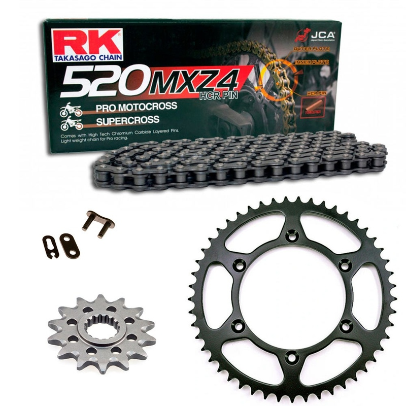 2003-2006 525 SX CZ Gold MX Chain And Sprocket 13//48 120L fits KTM 2007 525 EXC