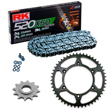 KIT DE ARRASTRE KTM 125 XC-W 17-19 COLORES ESTANDAR GRIS