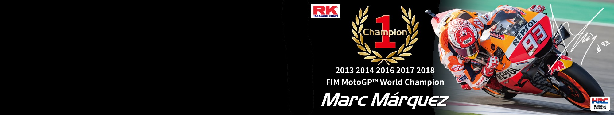RK Chain - MotoGP World Champion